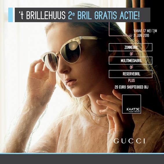 2e bril gratis actie - 't Brillehuus