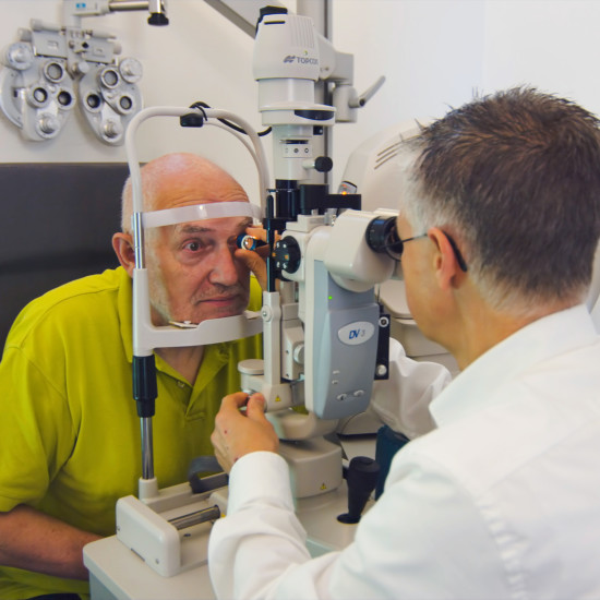 oogzorg meting