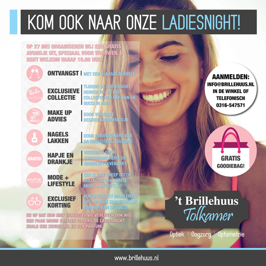 Ladiesnight 't Brillehuus