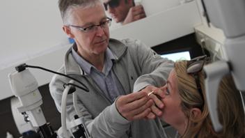 Peter Zwart optometrist bij 't Brillehuus