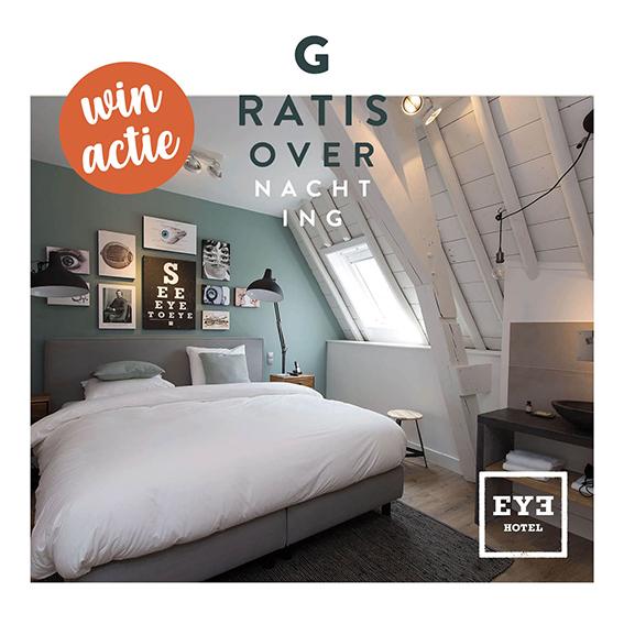 Winactie EYE Hotel t Brillehuus